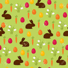 easter wrapping paper easter seamless wallpaper chocolate bunny with easter basket