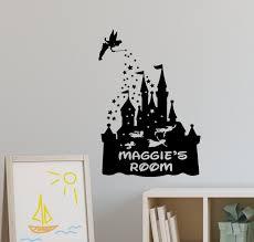 personalised disney castle wall sticker hogwarts castle wall