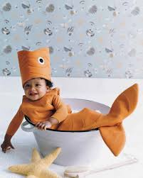 toddler fish costume for halloween baby costumes martha stewart