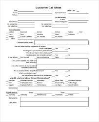 Call Sheet Template 31 Printable Sheet Templates Free Premium Templates