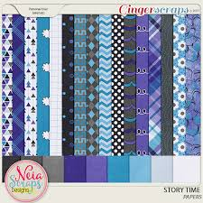 gingerscraps kits story time kit by neia scraps