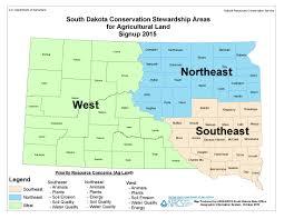 South Dakota In Usa Map by Conservation Stewardship Program Nrcs South Dakota