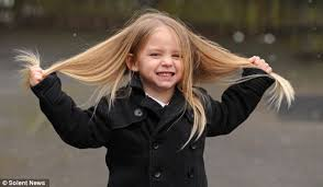 little boy 3 to have 2ft long hair cut off for charity because