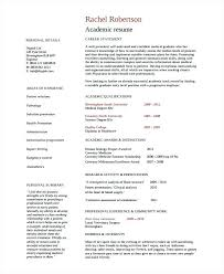 Resume Template Document Resume Resume Template For College Applications Free Academic 6