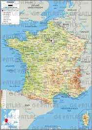 Provence Map Geoatlas Countries France Map City Illustrator Fully