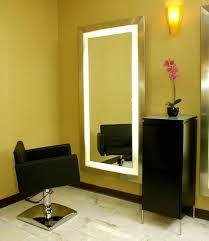 salon mirrors with lights 15 ideas of salon wall mirrors