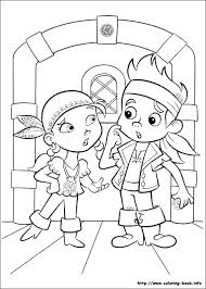 disney colouring pages jake neverland pirates free android