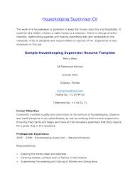resume exles housekeeping remarkable housekeeping resume sle objective on hospital exle