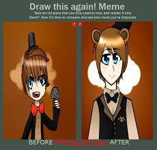Meme Freddy - before and after meme freddy fazbear by daydraws12 on deviantart