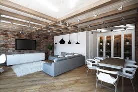 Construction Interior Design by Loft Interior Design Style