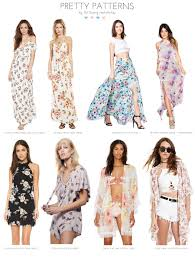 pretty patterns so perfect for spring