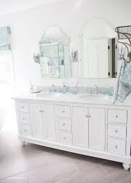 bathroom vanity makeover ideas painted wood look easy vanity update the weathered fox