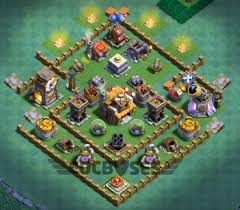 coc village layout level 5 top 24 best builder hall 5 base new 3500 cups anti 1 star