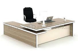 Office Table L L Shape Office Desks Table Manager Design Shaped Depot
