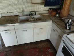 vintage metal kitchen cabinets vintage 1950 s retro metal kitchen cabinets and