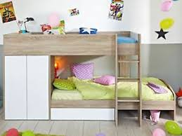 Bunk Beds With Wardrobe Stim Bunk Bed Beds Storage Drawers Wardrobe Chirldrens