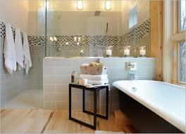 bathroom astonishing modern guest bathroom with white framed
