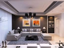 Grey Curtains On Grey Walls Decor Apartments Luxury Minimalist Apartment Decor Living Room With