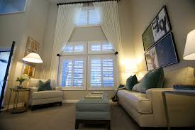 Height Of Curtains Inspiration Alluring Window Curtains Inspiration With Window Treatments