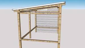 construire son chalet en bois abri velo gilou youtube