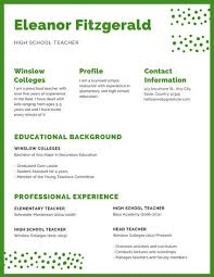 How To Write A Resume For Teaching Job by Resume Templates Canva
