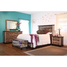 Rustic Piece King Bedroom Set Antique RC Willey Furniture Store - Bedroom sets at rc willey