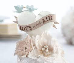 air cake topper is in the air birds cake topper
