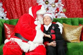 what to get an elderly woman for christmas elderly woman with dementia poses for moving christmas photos that