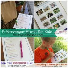 Backyard Scavenger Hunt Ideas 5 Fun Scavenger Hunt Ideas To Get Your Kids Busy Outside