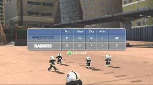 raiders vs broncos backyard football 10 youtube