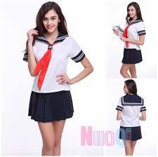 women uniforms sailor suit cosplay costume dress