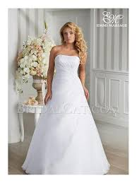 brautkleid ohne schleppe ohne schleppe emmi mariage lang trägerlos emmi mariage