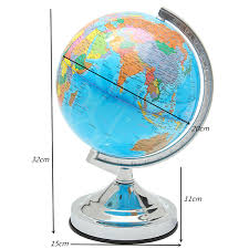 Earth Globe Map World by 20cm Light Globe Map World Geographic Politic Planet Earth Alex Nld