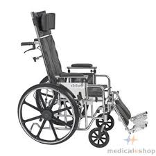 drive medical deluxe sentra full reclining wheelchair drive