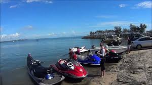 2012 jet ski ride to tangalooma queensland australia youtube
