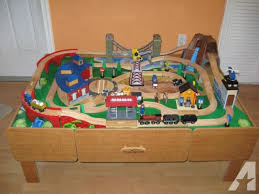 imaginarium train table 100 pieces imaginarium train table with expansion packs more trains and tracks