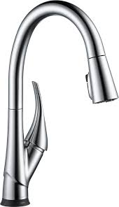 9181t ar dst esque single handle pull down kitchen faucet with