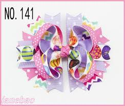 easter hair bows online shop free shipping 100pcs newest easter hair bows easter