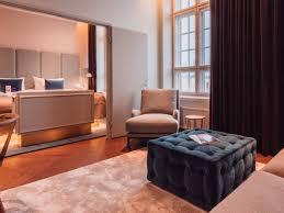 Bed And Living Hotel Rooms U0026 Suites Radisson Blu Seaside Helsinki