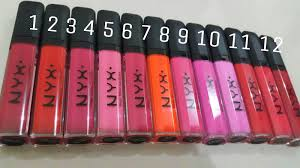 Lipstik Nyx Replika lipcream nyx mega shine lip gloss matte