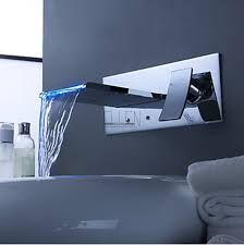 shipping in 24 hours bathroom mixer tap color changing led