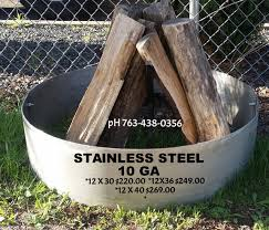 Firepit On Sale Pit Ring For Sale Stainless Steel Pit Ring Stainless