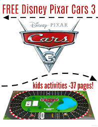 free cars 3 kids printables 37 pages cars3 raising whasians