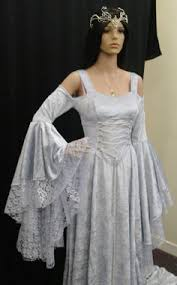 Medieval Wedding Dresses Uk Uk Maid Marian Medieval Pagan Wedding Dress Handfasting Laced