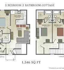 Fairy House Plans 3 Bedroom Cottage House Plans Decohome