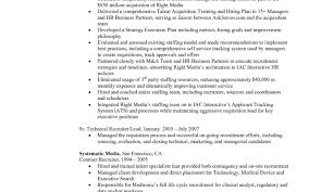 Resume Samples Hr Executive by Hr Recruiter Resume Resume For Your Job Application