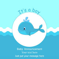 whale baby shower invitations blue baby whale it s a boy card design baby shower invitation