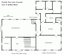 malfoy manor floor plan home decorating interior design bath
