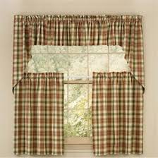 Checkered Kitchen Curtains Plaid Kitchen Curtains At Best Office Chairs Home Decorating Tips