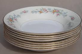 homer laughlin vintage soup bowls vintage homer laughlin china floral eggshell